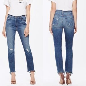 NWOT Mother The Rascal Jeans in Wild